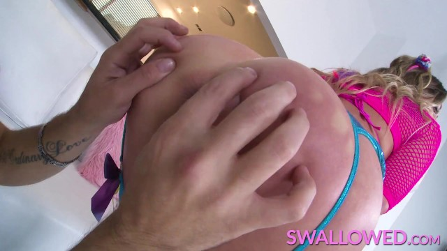 SWALLOWED Adira Allure has her tonsils tickled 10