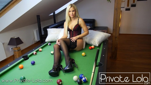 Bobbi billard naked videos My very special billiard game