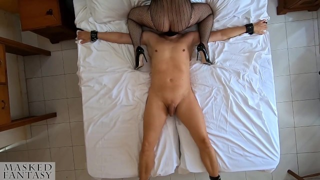 Amature lingerie posting - A slave to fuck for my girlfriends birthday, femdom, post orgasm torture