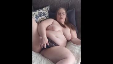 Cumming in panties twice using vibrator