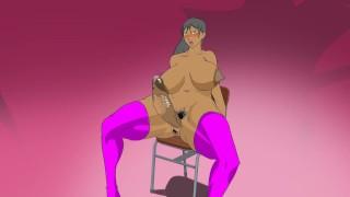 hentai futa masturbation till she cums