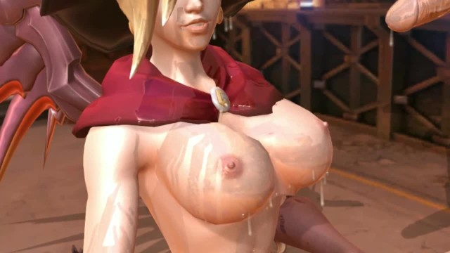 How to suck dog penis - Succubus mercy suck a man to death and drink cum to grow her boobs