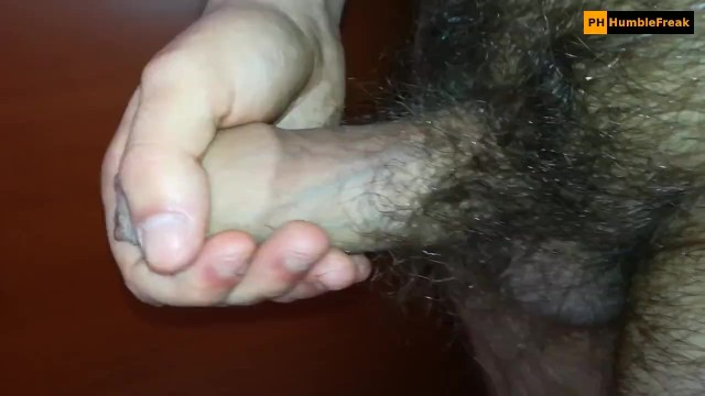 Tumblr hairy foreskin Nice cumshot from hairy tight foreskin dick