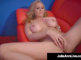 Stripper Mom!? Milf Julia Ann Finger Fucks After Stripping!