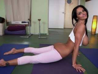 Bangbros fit milf does yoga gets her fucked...