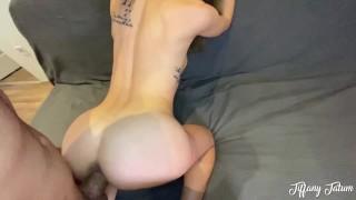 Petite Teenager Gets Horny For A Big Cock - Tiffany Tatum