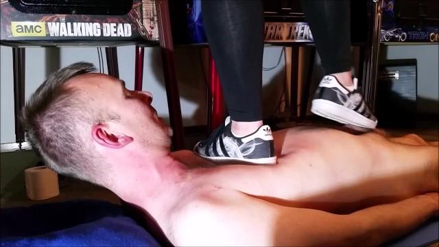 Feet;Exclusive;Verified Amateurs kink, adidas-superstar, girl-sneaker-trample, mistress, domination