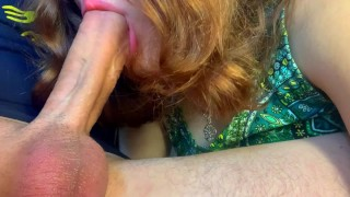 Clip I like to feel Pulsating Cock in My Mouth. Suck Big Dick on Camera!