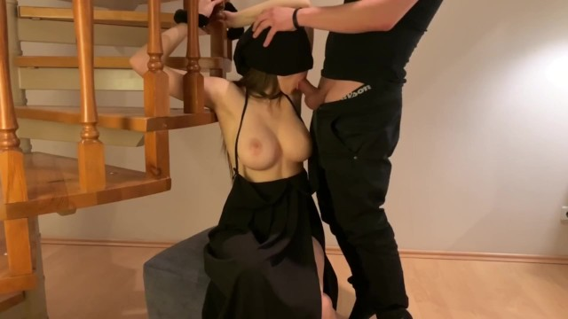 Beautuful boobs - Fucked beauty with perfect boobs and cum on her face