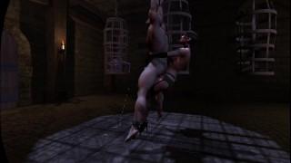 Citor3 SFM VR Bondage Games Big tits mistress femdom sissy dildo milking training