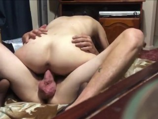 Hot sex on the loungeroom floor (Parents in other room)