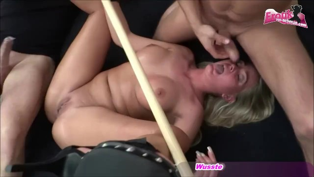 Cora fetish germany - German submissive housewife get threesome bound and fuck mmf homemade