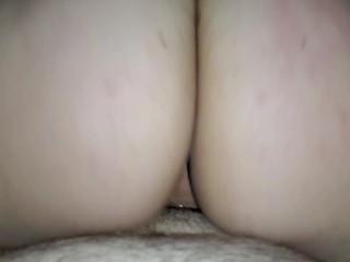 Sexy Wife Dripping Cum After Creampie