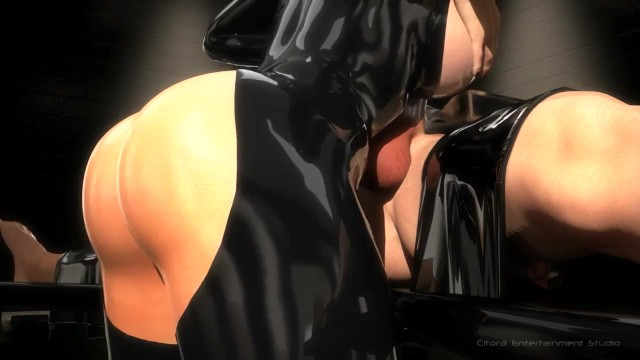 Female latex skin - Sfm 3d busty bondage makes slave cum multiple times blowjob, facesit