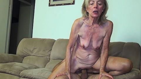 Pussy skinny granny Skinny