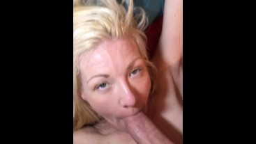 She wanted face fucked for breakfast