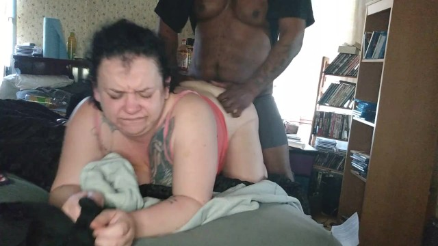 Taking Bbc the right way interracial creampie 1