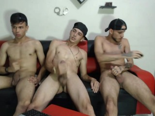 Two sexy papis go at it live chaturbate...