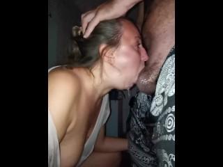 Extreme Deepthroat Cum Throat
