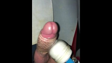 XXL Monster Cumming Bi Lad Gloryhole
