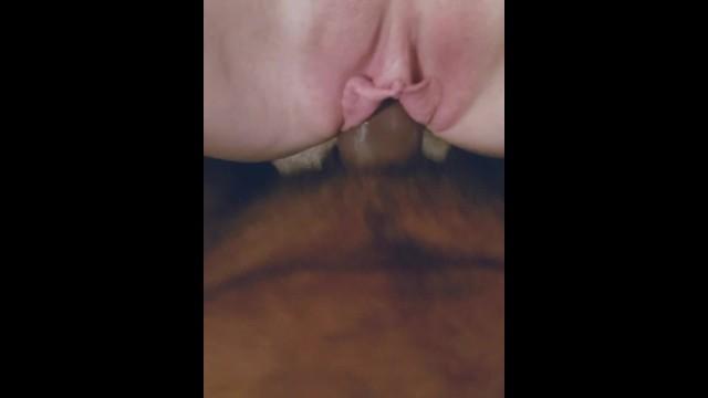 Redhead milf Dani-Rae Diamond gets her pink pussy cock teased 8