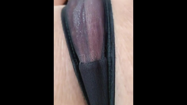 wet pantys filled with my honey 11