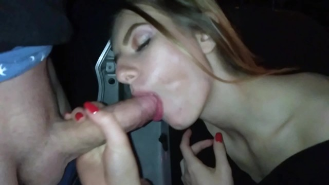 STRANGER HARD FUCKED ME DOGGY STYLE IN THE CAR AND CUMMED IN MY MOUTH!