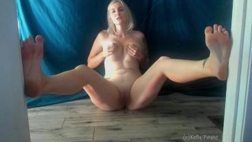 Barefoot Lactating Blonde