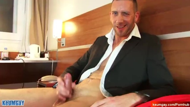Gay porn homevideos - Outbreak, suited guy needs money, no choice, he made a porn. jan