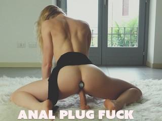 Insertion Amateur Butt Plug Free butt