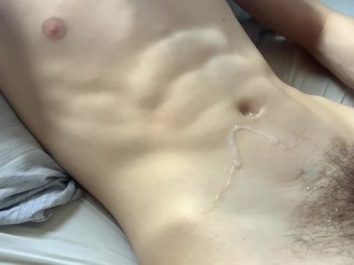 CUMPILATION: HOT GUYS WATCHING PORN, MOANING, AND CUMMING! (2)