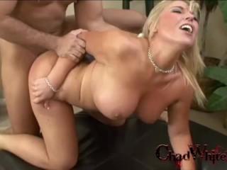 Big tits heidi hollywood swallows chad white huge...