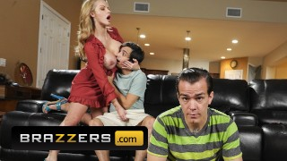 Brazzers - Busty MILF Joslyn James gets fucked hard by her sons friend