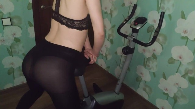 Bike bmx vintage Teen russian wife use exciting sex pheromones. want fuck on exercise bike.