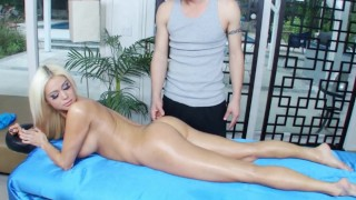 BANGBROS - Russian PAWG Nikita Jaymes Gets Massage & Some Dick As Well