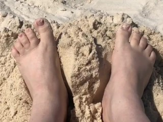 Get the me feet fetish...