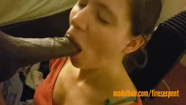 Two Black Cocks White Wife
