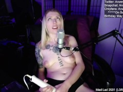 Lolivoice Arwen_Datnoid MyFreeCams Cumshow, Tsundere as Fuck