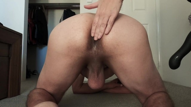 Swallowing huge loads of cum drinking Hardcore pegging from femdom - butt play cum drinking - min moo