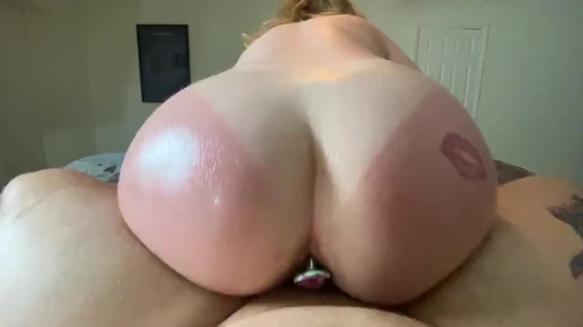 Reverse Cowgirl Anal Dildo