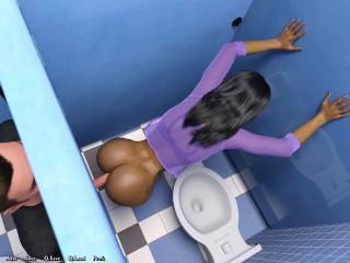 Being a dik public toilet ep 17...