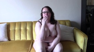 Smoking Cutie with Glasses JOI