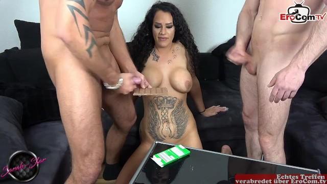 Hd Ffm Threesome Essen Muschi