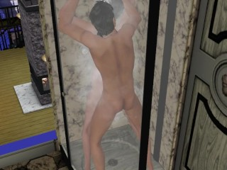 Sex in the shower the sims 3 a...