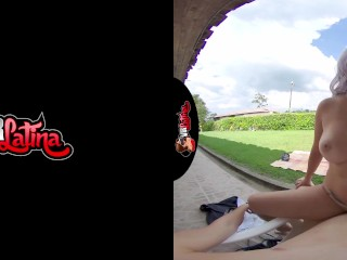 VRLatina – Sexy Outdoor Fucking With Colombian Beauty VR