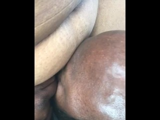 Pussy ate in parking lot of car dealerships...