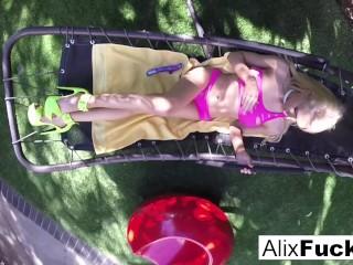 Big tittied hard hammock...