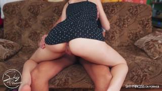 Tinder collage girl likes to ride hard dick. 4K
