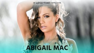 ADULT TIME Abigail Mac ALL GIRL Compilation - Orgy, Scissoring & More!