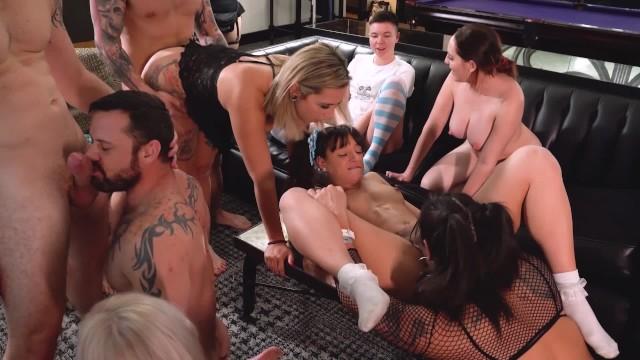 Adult video las vegas nv 10 person bisexual wild orgy in vegas